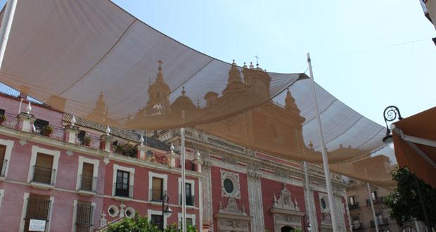 Fachada Exterior de la Iglesia del Salvador de Sevilla