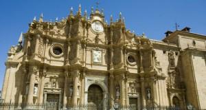 Fachaba de la catedral de Guadix