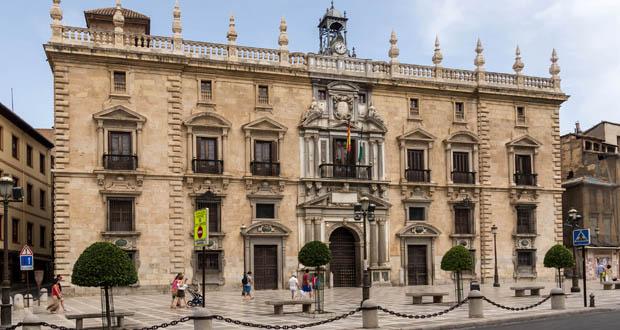 Exterior de la Real Chancilleria de Granada