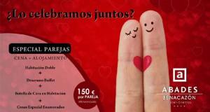 Promoción hotel San Valentín en Sevilla