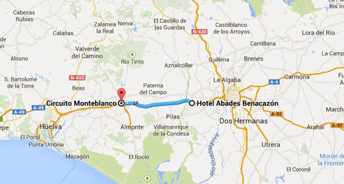 hotel circuito monteblanco
